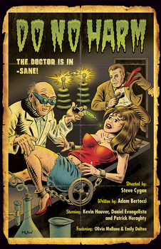 'DO NO HARM' Movie Poster - Distressed Version