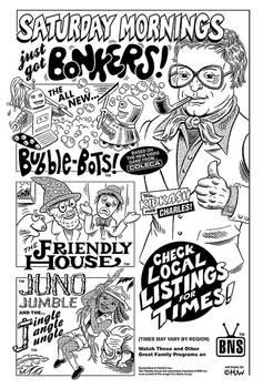 Retro Saturday Morning Cartoons Parody Ad