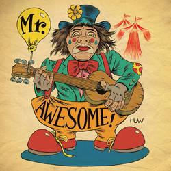 MR. AWESOME LOGO/MASCOT