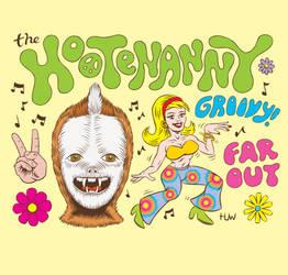 Hootenanny Hippy Art
