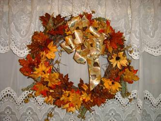 Autumn Wreath by DarkMaiden-Stock