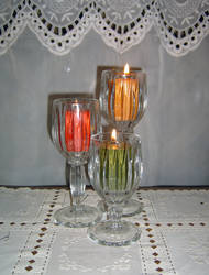 Autumn Candles by DarkMaiden-Stock