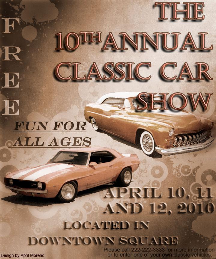 Car Show Poster Design By Rennisance On DeviantArt - Fun car show ideas