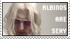 dA stamp: albinos are sexy 001 by oddmodout
