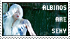 dA stamp: albinos are sexy 002 by oddmodout