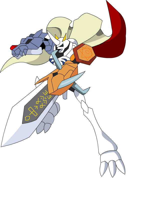 Omnimon by raysaber