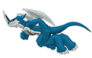 Exveemon by raysaber