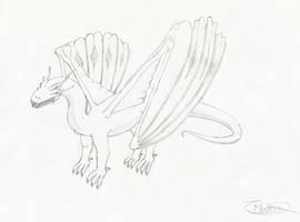 Alien Dragon by x-Madero-x