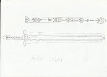 Skywanderer's Photon Saber Sketch #2