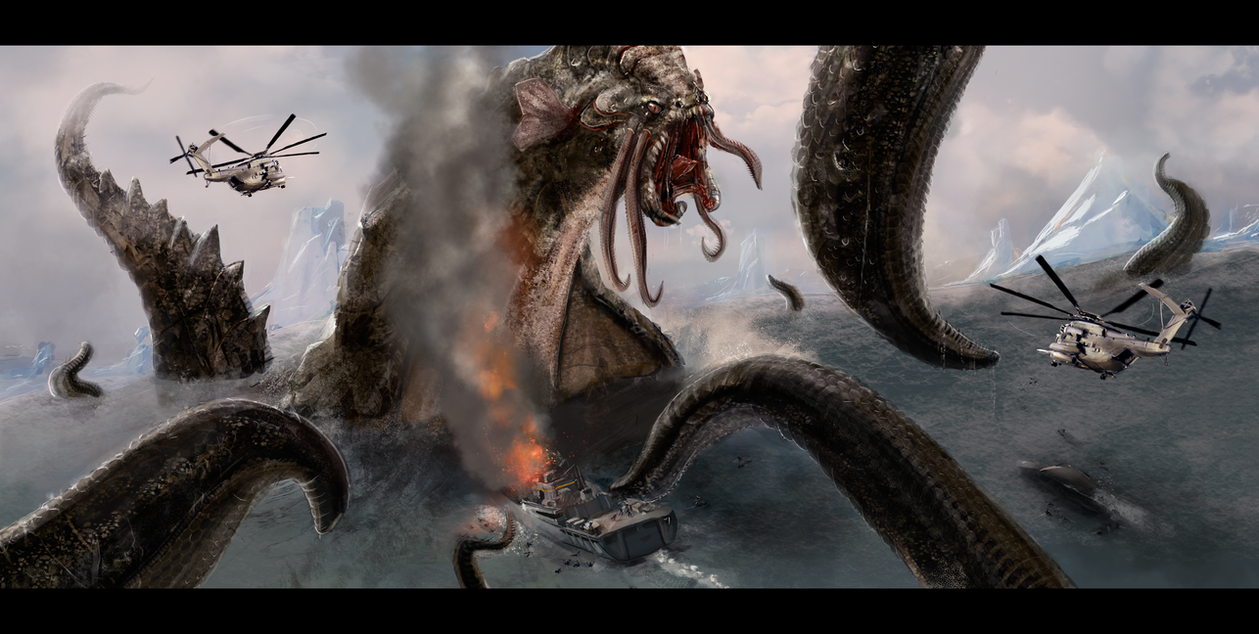 The Kraken Wakes by Sanskarans