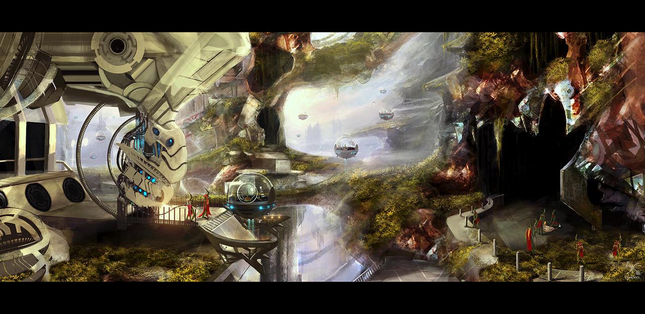 Alien world by Sanskarans