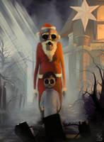 Nightmare Santa by Sanskarans