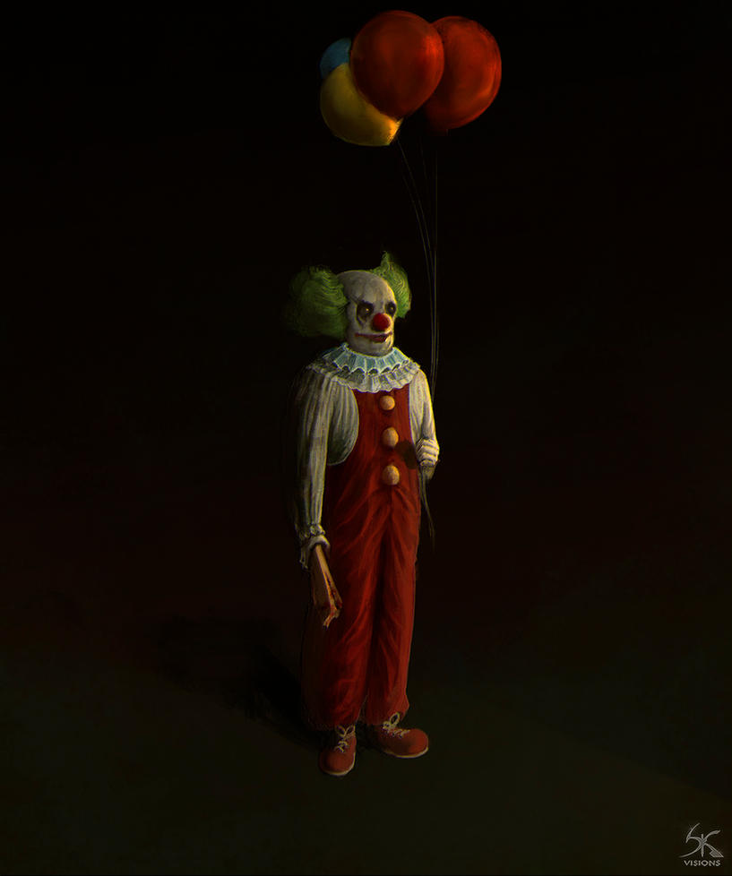 Image Result For Clown With Balloons