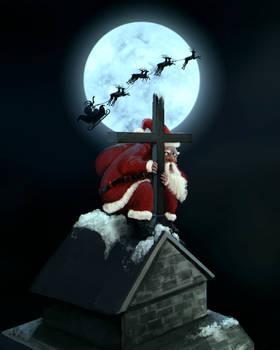 Santas stolen Christmas