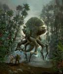 The creature of forbidden isle