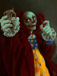 In the hands of clowning fate