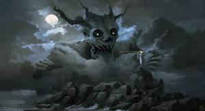 The haunt of evil