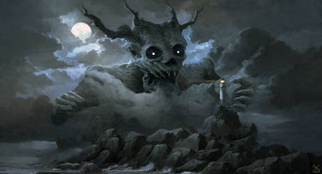 The haunt of evil by Sanskarans