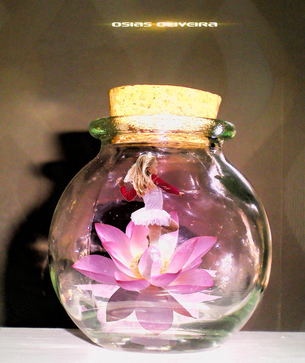 Fairy in bottle