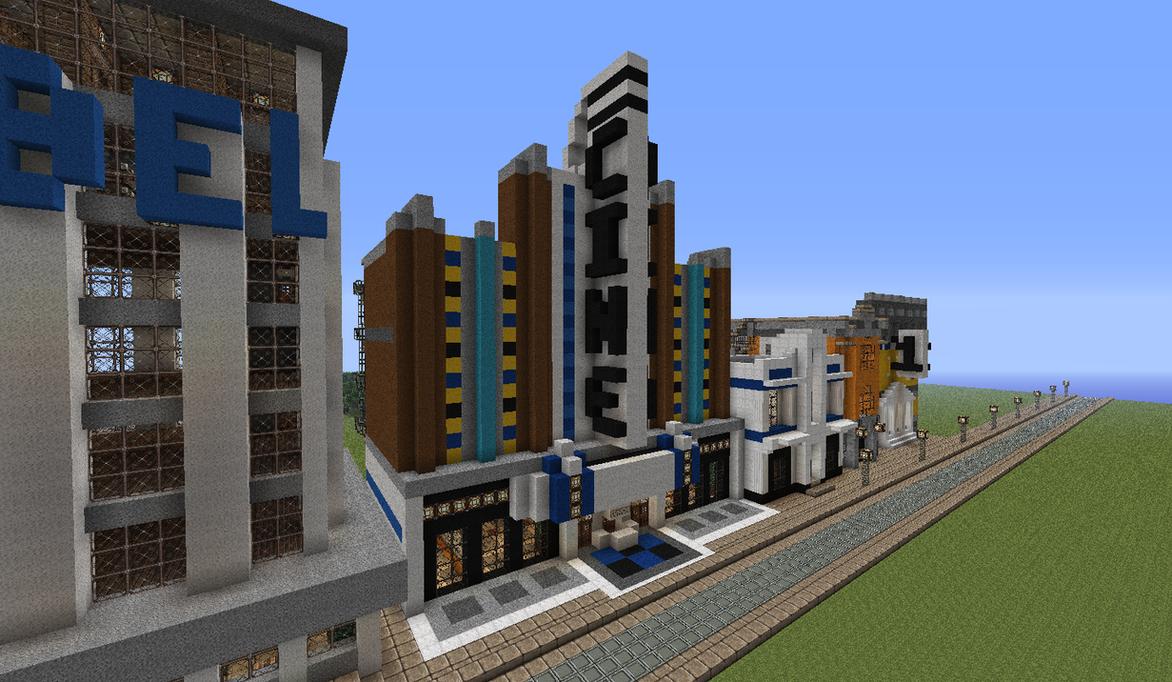 Art Deco Movie Theatre By Myrik Tylo On Deviantart