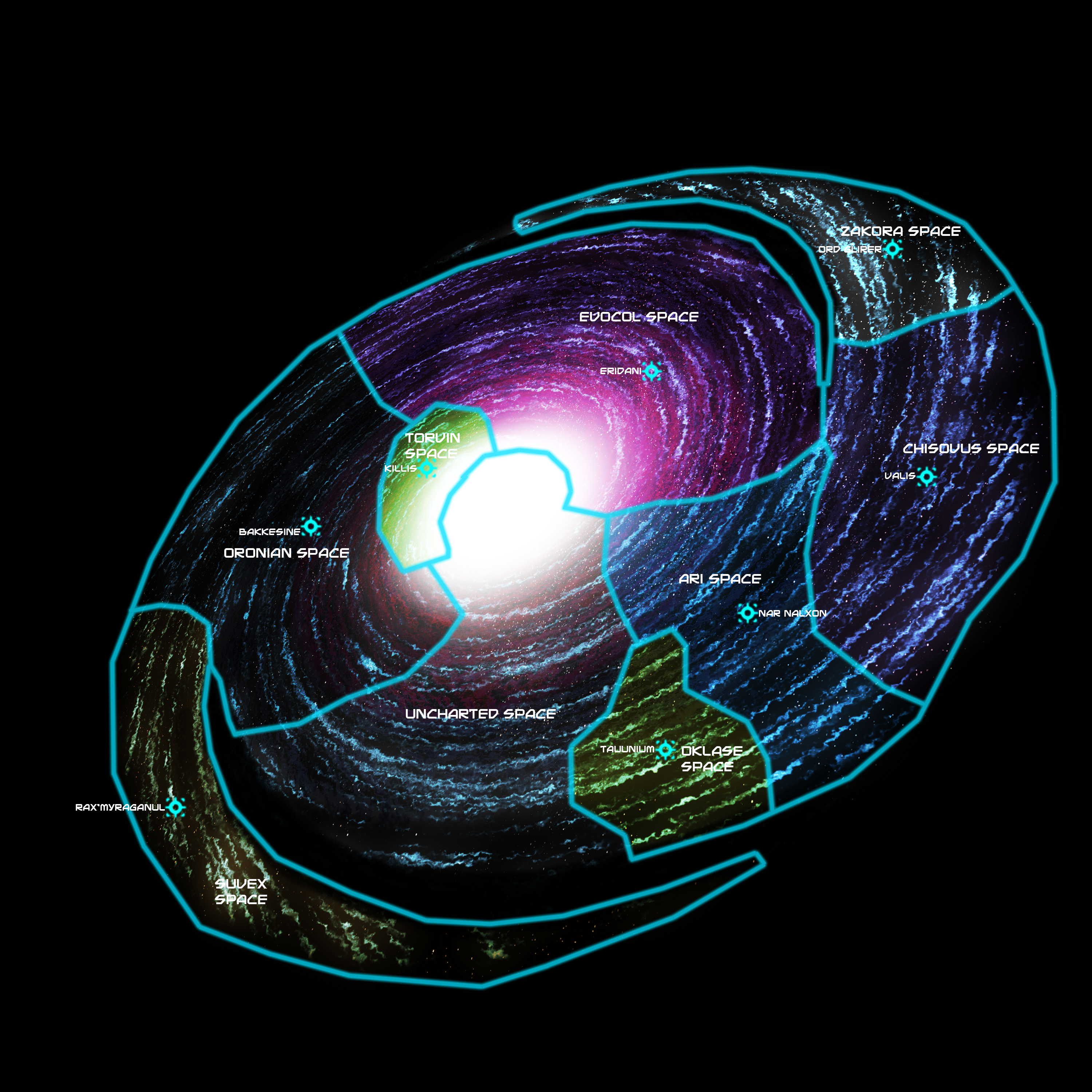 maps of galaxies close to earth - photo #8