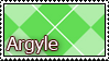 Argyle Stamp by Pockaru