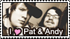 Patrick and Andy Stamp by Pockaru