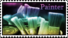 Painter Stamp by Pockaru
