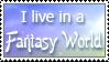 Fantasy World Stamp by Pockaru