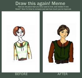 Kel Before and After by Josiebeebee
