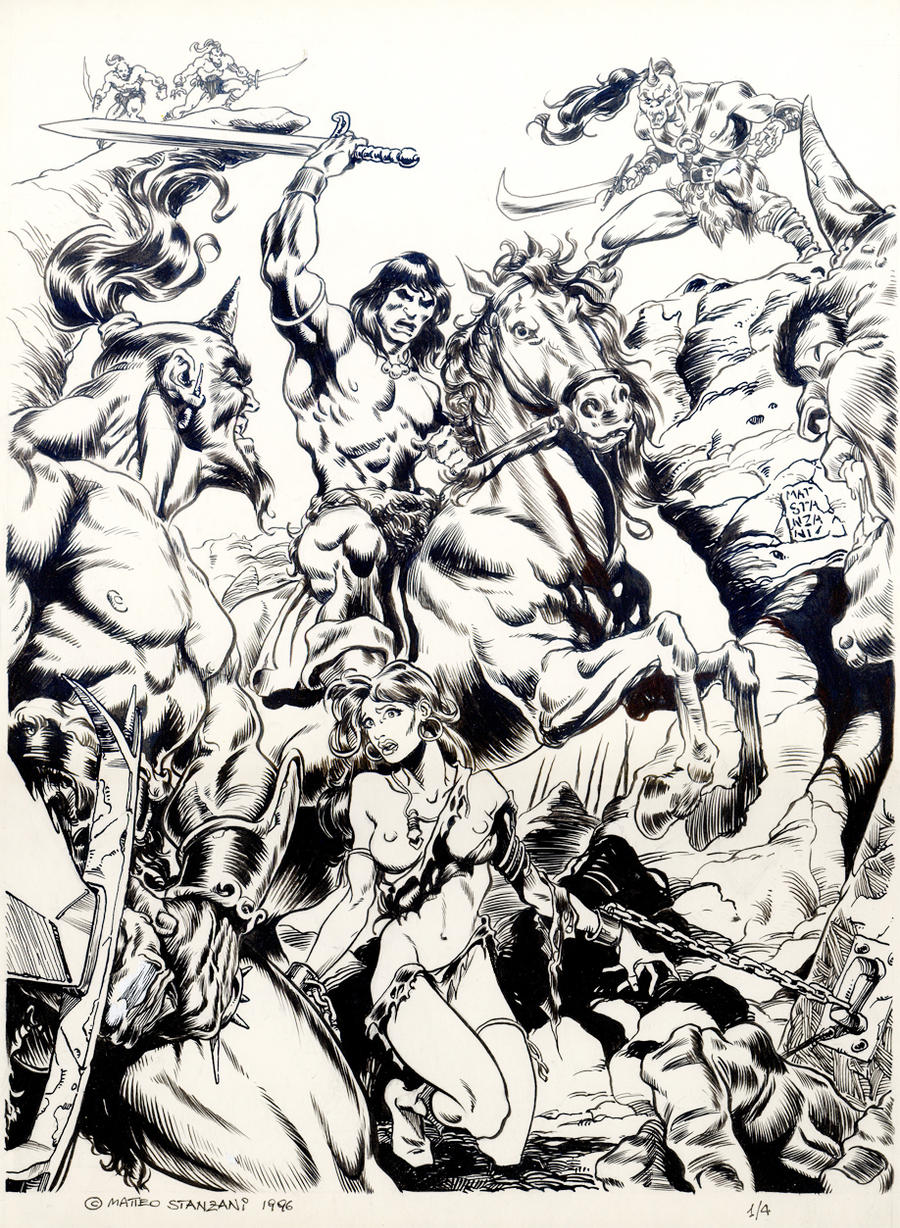 CONAN THE BARBARIAN Cover By Mattestanz On DeviantArt