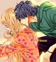 Kyo No Kira-kun - Nino y Kira kiss by IAMeikoD