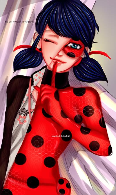 Ladybug - Miraculous Ladybug by IAMeikoD