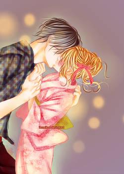 Boku ni Hana No Melancholy - cap 22 Kiss