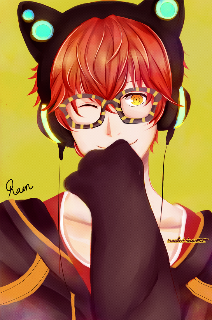 saeyoung (707) - Mystic messenger by IAMeikoD on DeviantArt