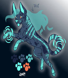 ghost Dog adoptables-auction [open] by Captain-Mistral