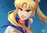 Sailor Moon Redraw by NoisyMary