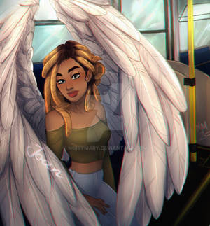 Angel (Commissioned drawing)