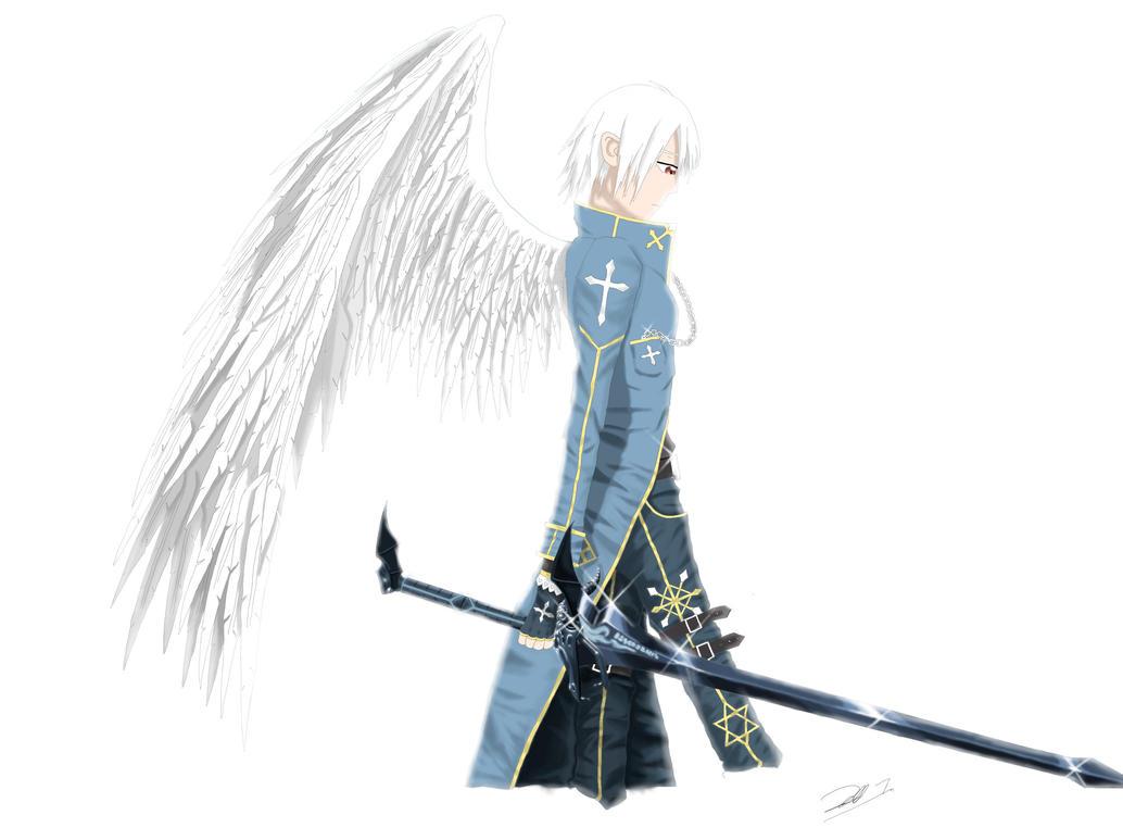 Angel with Demon Sword by SPETSNAZ298 on DeviantArt