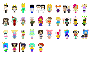 updated oc sprites by partymeat