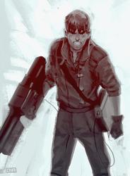Kaneda sketch by robrokop