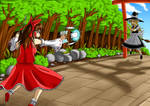 Touhou: Reimu vs Marisa