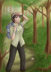 The adventurer by JeffriArt