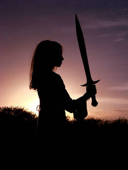 Girl with a sword 2