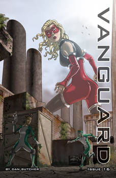 Vanguard issue 16 Cover