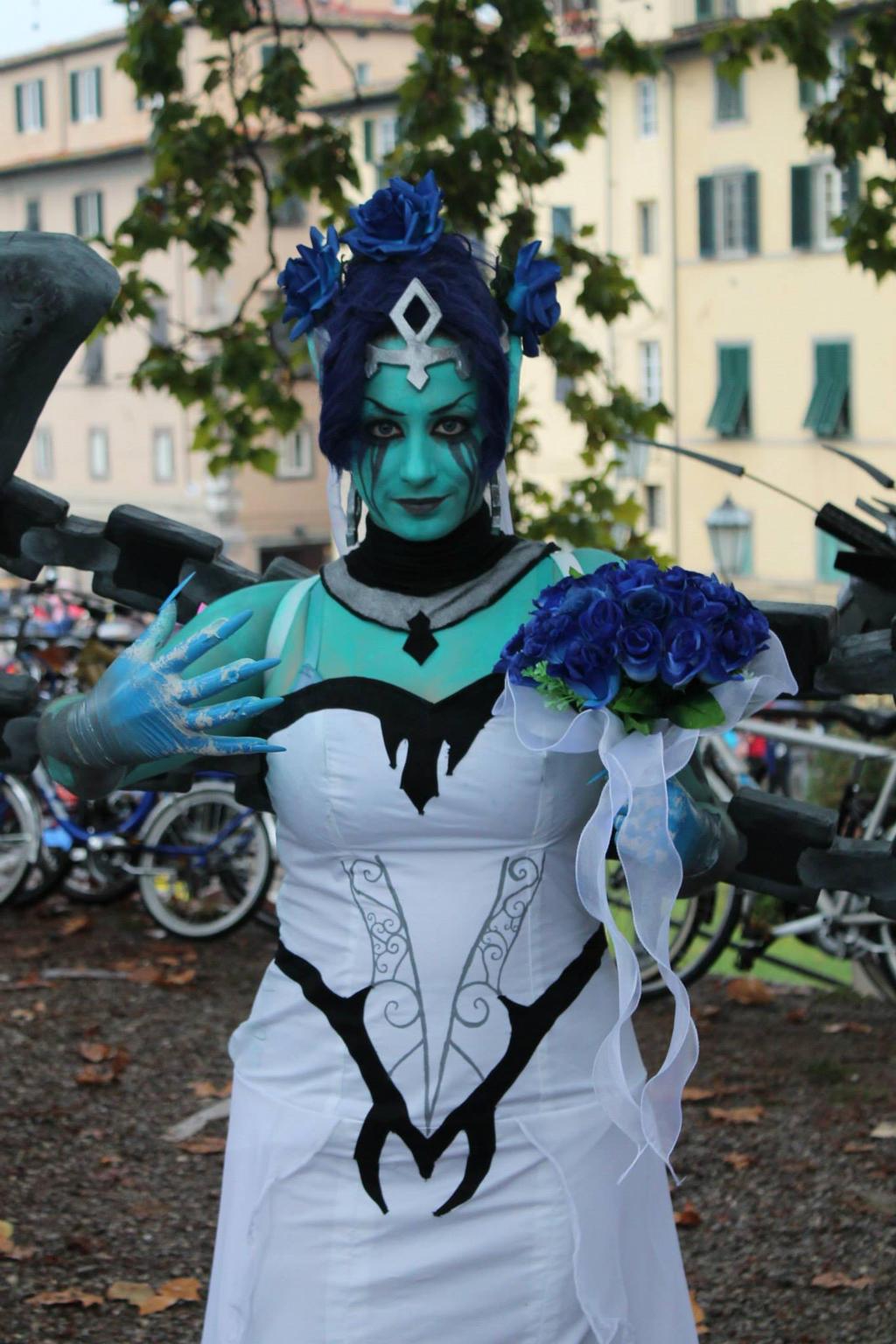 Ghost Bride Morgana Cosplay