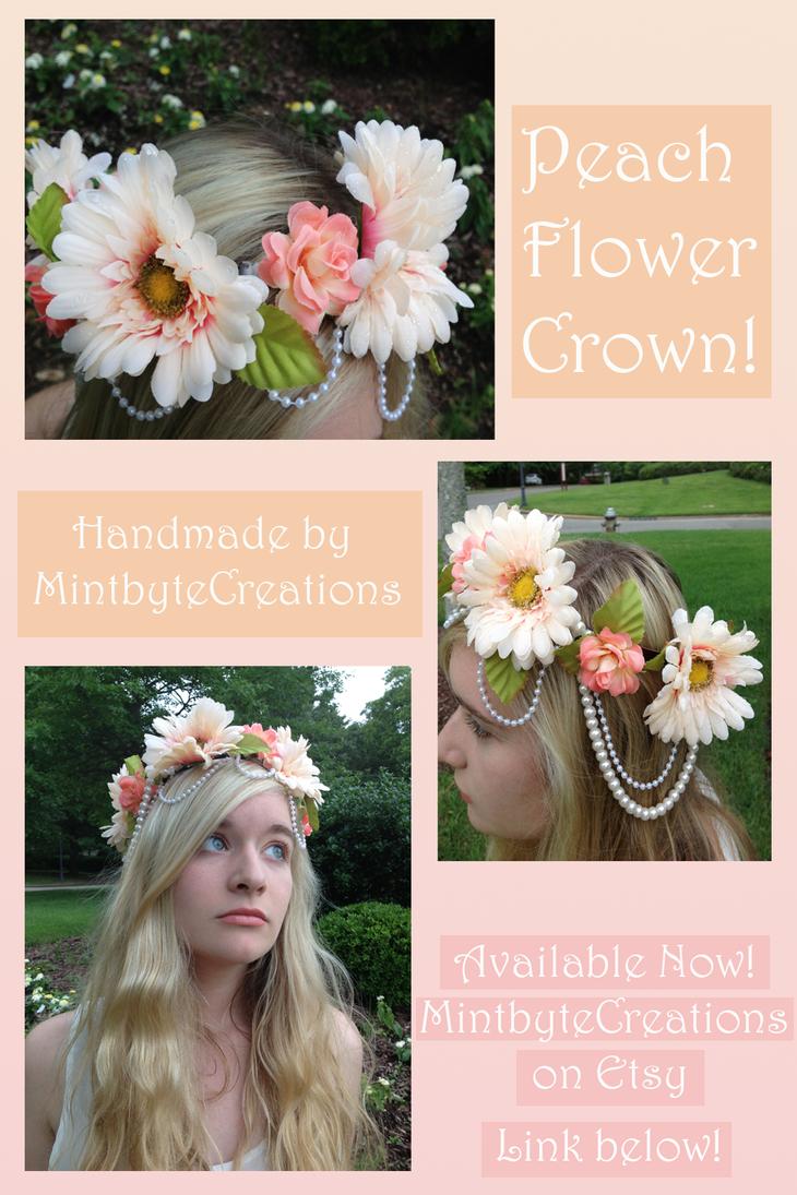 Flower Crown Peach Color Scheme Sold By Xecax On Deviantart
