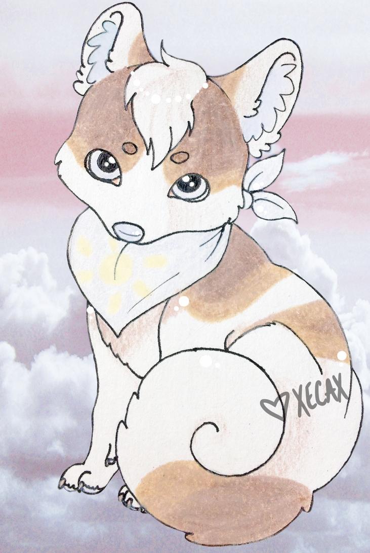 Freebie: Foxnap Puppy by Xecax
