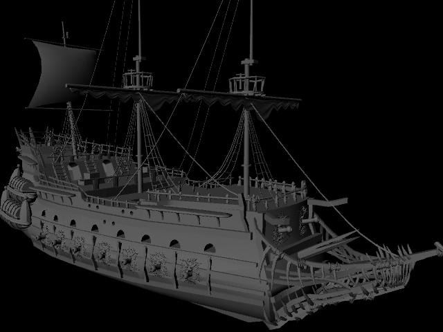 Pirates Of The Caribbean 5 Wallpapers Ship: Pirates Of Caribbean Ship By Spicydudeguy On DeviantArt