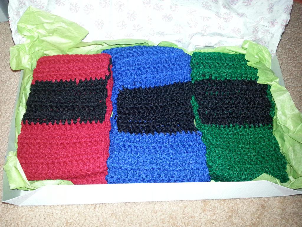 Rowdyruff Boys scarf set by IkuniHattori